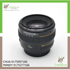 USED CANON LENS EF 50mm 1:1.4