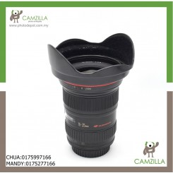 USED CANON LENS EF 16-35mm 1:2.8 L