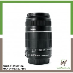USED CANON LENS EF-S 55-250mm 1:4-5.6 IS STM