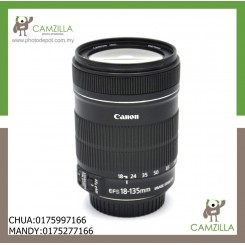 USED CANON LENS EF-S 18-135mm 1:3.5-5.6