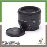 USED CANON LENS EF 50mm 1:1.8