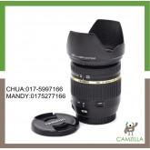 USED TAMRON LENS SP 17-50mm F2.8 VC FOR CANON