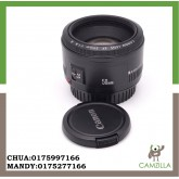 USED CANON LENS FE 50mm 1:1.8 II