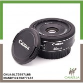 USED CANON LENS EF 40mm 1:2.8 STM