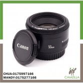 USED CANON LENS EF 50mm 1:1.8 II