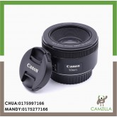 USED CANON LENS EF 50mm 1:1.8 STM