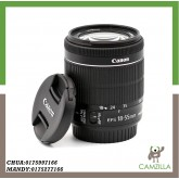 USED CANON LENS EF-S 18-55mm 1:3.5-5.6 IS STM