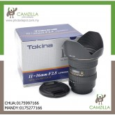 USED TOKINA LENS 11-16mm F2.,8 AT-X116 PRO DX II