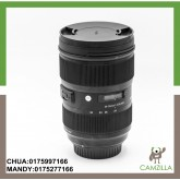 USED SIGMA LENS ART 24-35mm 1:2 DG FOR CANON