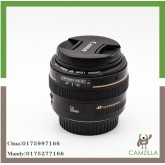 USED CANON LENS EF 50mm 1:1.8 USM