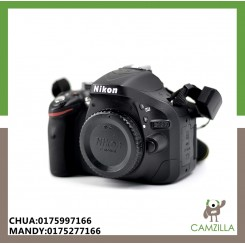 USED NIKON D5200 BODY SC:5K ONLY