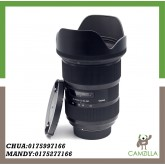 USED SIGMA LENS ART 24-35mm 1:2 DG FOR NIKON