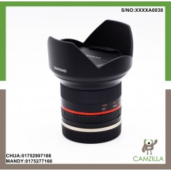 USED SAMYANG 12mm 1:2.0 NCS CS FOR SONY EMOUNT