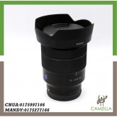 USED SONY LENS FE 16-35mm 1:4 ZA OSS CARL ZEISS *T FOR SONY E-MOUNT