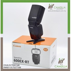 USED CANON 600 EX-RT SPEEDLIGHT