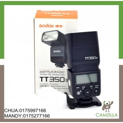 (USED)GODOX TT350 THINKLITE TTL CAMERA FLASH FOR SONY *CONDITION LIKE NEW