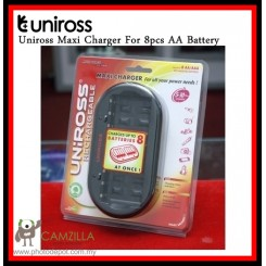 UNIROSS MAXI CHARGER FOR 8PCS AA BATTERY