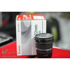 [Used] Canon EF-S 10-22mm f/3.5-4.5 USM Lens - Like New Condition