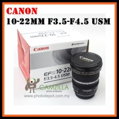 [USED] Canon 10-22MM F3.5-F4.5 USM Camera Lens - Excellent Condition