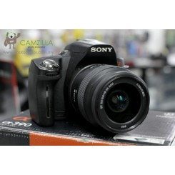 【USED】Sony A390 Camera + 18-55 Kit Lens (Good Condition)