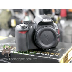 [USED] Nikon D3100 BODY DSLR Digital Camera (Good Condition)