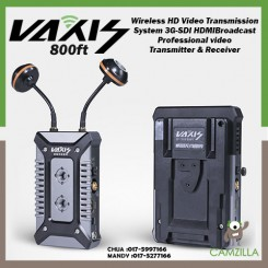 VAXIS STORM 800FT Wireless HD Video Transmission System 3G-SDI HDMI Broadcast Professional video Transmitter & Receiver