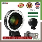 Viltrox EF-E II 0.71x Lens Mount Adapter for Canon EF-Mount Lens to Select Sony E-Mount Cameras