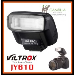 VILTROX JY610 Speedlite Mini Flash for Canon Nikon Olympus Panasonic Pentax