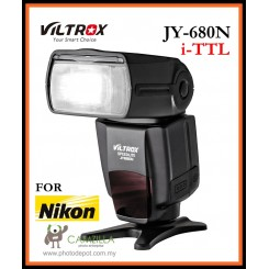 VILTROX JY680N i-TTL Flash Speedlite Light for Nikon DSLR Camera