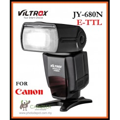 VILTROX JY680N E-TTL Flash Speedlite Light for Canon DSLR Camera
