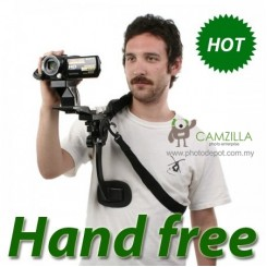 HANDS FREE SHOULDER PAD FOR DSLR / DIGITAL CAMERA/ VIDEO CAMERA