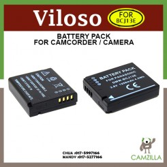 Viloso Battery DMW-BCJ13 DMW-BCJ13GK For Panasonic DMC-LX5 LX5W LX5K LX7 Camera