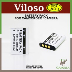 Viloso BATTERY EN-EL11 for NIKON S550 S560