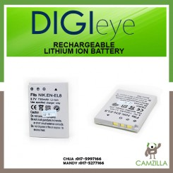 DigiEye EN-EL8 Rechargeable Lithium Ion Battery