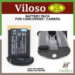 LP-E4 Battery For Canon EOS 1Ds Mark III IV 1DX 1Ds3 1D3 1D4