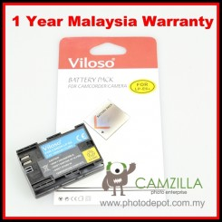 Viloso LP-E6 Replacement Battery for Canon 60D 70D 7D 5D2 5D3 6D (1 Year Warranty)