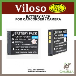 Original Viloso NP-BD1/FD1 Battery for sony