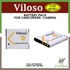 Viloso NP-BN1 Battery For Sony DSC W310 W320