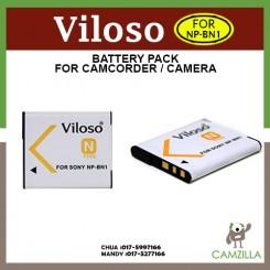 Viloso NP-BN1 Battery For Sony DSC W310 W320