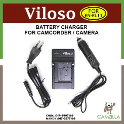 Viloso EN-EL11 Battery Charger for Nikon S560 S550
