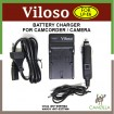 Viloso Battery charger For Canon LP-E6  EOS 7D 70D 6D 60D 5D Mark II III Camera
