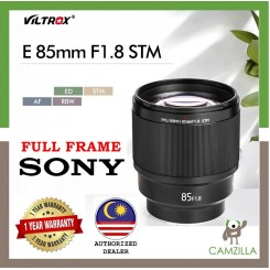 Viltrox PFU RBMH 85mm f/1.8 STM Lens for Sony E