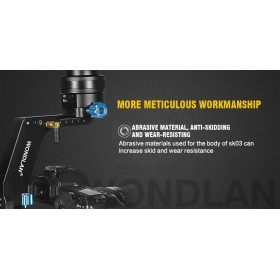 Wondlan Skywalker SK03 3-Axis Gimbal Handheld Groscope Stabilizer Load 2kg