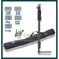 Weifeng WT-1007 Monopod Aluminium Mimi Ball Head 1700mm Stand