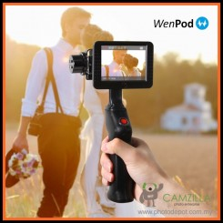 Wenpod Gp1+ Digital Stabilizer For Gopro Camera With 3.5 Led Monitor