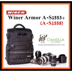 Winer Armor A-S1553+(1558) Camera Backpack (with laptop compartment)