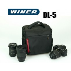 Winer DL5 Medium DSLR Camera Bag For Canon Nikon Sony Olympus Panasonic