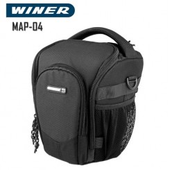 Winer MAP04 Top Loader Shoulder Case Bag for DSLR Camera Camcorder