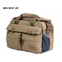 Winer Rover 55 Canves DSLR Camera Bag - BROWN