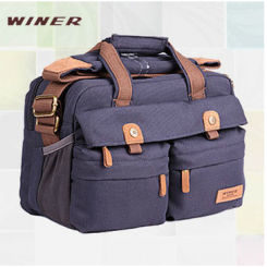 Winer Rover 55 Canves DSLR Camera Bag - Blue